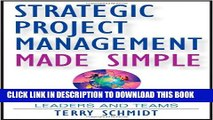 PDF] Strategic Project Management Made Simple: Practical
