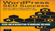 New Book WordPress SEO Success: Search Engine Optimization for Your WordPress Website or Blog