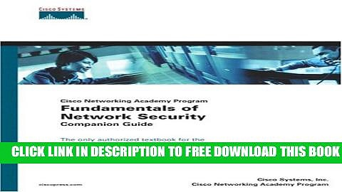 Collection Book Fundamentals of Network Security Companion Guide (Cisco Networking Academy Program)