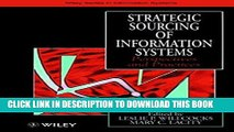 New Book Strategic Sourcing of Information Systems: Perspectives and Practices