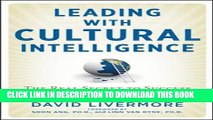 New Book Leading with Cultural Intelligence: The Real Secret to Success