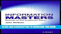 Collection Book Information Masters: Secrets of the Customer Race