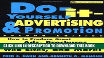 Collection Book Do-It-Yourself Advertising and Promotion: How to Produce Great Ads, Brochures,