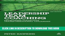 New Book Leadership Team Coaching: Developing Collective Transformational Leadership
