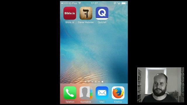 iPhone Apps zum Hebräisch lernen