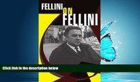 Popular Book Fellini On Fellini