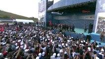 6-Cumhurbaşkanı Erdoğan Yavuz Sultan Selim Köprüsü'nün Açılışında Konuştu