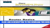 New Book Router Basic Simulator: Cisco Interactive Mentor