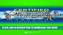 Collection Book The Certified Manager of Quality/Organizational Excellence Handbook, Fourth Edition