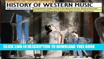 Collection Book HarperCollins College Outline History of Western Music
