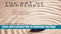 New Book The Art of Awareness, Second Edition: How Observation Can Transform Your Teaching