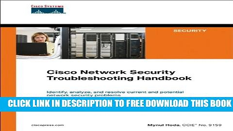 New Book Cisco Network Security Troubleshooting Handbook (Networking Technology)