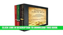 New Book Think and Grow Rich: The Complete Think and Grow Rich Box Set