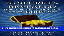Collection Book 70 SECRETS REVEALED: How To Write Content That Converts 600% More (Conversion Rate