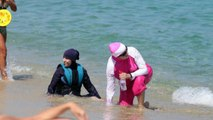 French court overturns burkini ban on France beaches