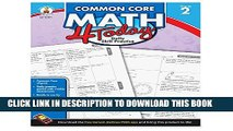 Collection Book Carson Dellosa Common Core 4 Today Workbook, Math, Grade 2, 96 Pages (CDP104591)