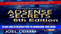 New Book Google AdSense Secrets 6.0: What Google Never Told You About Making Money with AdSense