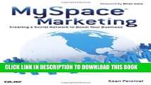 Collection Book MySpace Marketing: Creating a Social Network to Boom Your Business