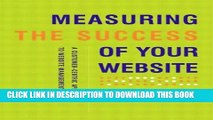 New Book Measuring The Success Of Your Website