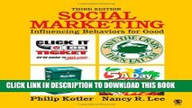 Collection Book Social Marketing Influencing Behaviors For Good