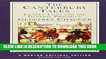 New Book The Canterbury Tales: Fifteen Tales and the General Prologue (Norton Critical Editions)