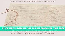Pdf Emily Dickinson S Poems As She Preserved Them Popular