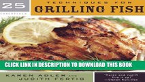 Collection Book 25 Essentials: Techniques for Grilling Fish