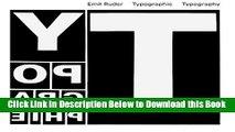 [PDF] Typographie: A Manual of Design Free Books