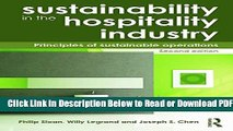 [Get] Sustainability in the Hospitality Industry 2nd Ed: Principles of Sustainable Operations Free