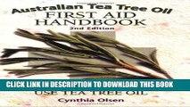 Australian Tea Tree Oil First Aid Handbook Summary