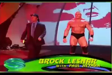 Brock Lesnar vs The Rock - SummerSlam 2002 - full match