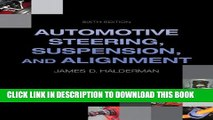 Collection Book Automotive Steering, Suspension, Alignment (6th Edition) (Automotive Systems Books)