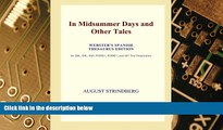 Big Deals  In Midsummer Days and Other Tales (Webster s Spanish Thesaurus Edition)  Best Seller