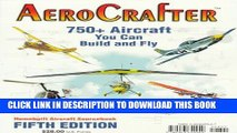 New Book Aerocrafter: 750+ Aircraft You Can Build and Fly