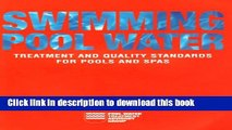 PDF Swimming Pool Water: Treatment and Quality Standards for Pools and Spas  PDF Free