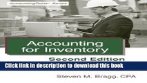 PDF Accounting for Inventory: Second Edition  Ebook Online