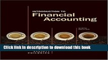 PDF Introduction to Financial Accounting (Charles T Horngren Series in Accounting)  Ebook Online