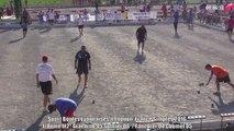 Huitièmes de finales M2, Sport Boules, France Simple, Thonon 2016