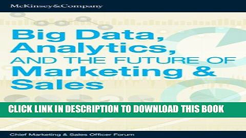 [PDF] Big Data, Analytics, and the Future of Marketing   Sales Popular Colection