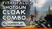 Titanfall 2 Shotgun and Cloak Combo Pre Alpha Gameplay