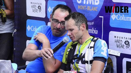 UTMB 2016, l'interview du vainqueur Ludovic Pommeret