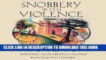 [PDF] Snobbery with Violence  (Edwardian Murder Mysteries, Book 1) (Edwardian Murder Mysteries