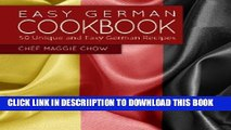 [PDF] Easy German Cookbook: 50 Unique and Easy German Recipes Popular Online