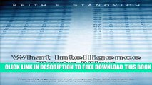 [PDF] What Intelligence Tests Miss: The Psychology of Rational Thought Full Online
