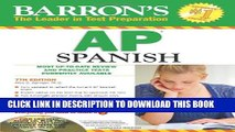 Collection Book Barron s AP Spanish with Audio CDs and CD-ROM (Barron s AP Spanish (W/CD   CD-ROM))