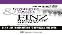 New Book Strategies   Tactics for the FINZ Multistate Method (Emmanuel Bar Review) (Emanuel Bar