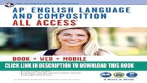 New Book AP® English Language   Composition All Access Book + Online + Mobile (Advanced Placement