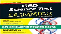 Collection Book GED Science For Dummies