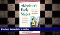 READ  Alzheimer s Early Stages : First Steps for Family, Friends, and Caregivers (Hardcover)--by
