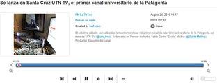 UTN TV Rio Gallegos canal 32 Santa Cruz